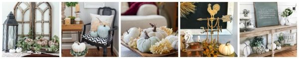 vignette collage 3 1200x240 Neutral Farmhouse Fall Tablescape