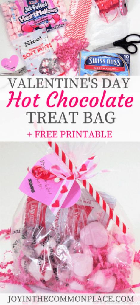 Valentine's Day Hot Chocolate Treat Bag