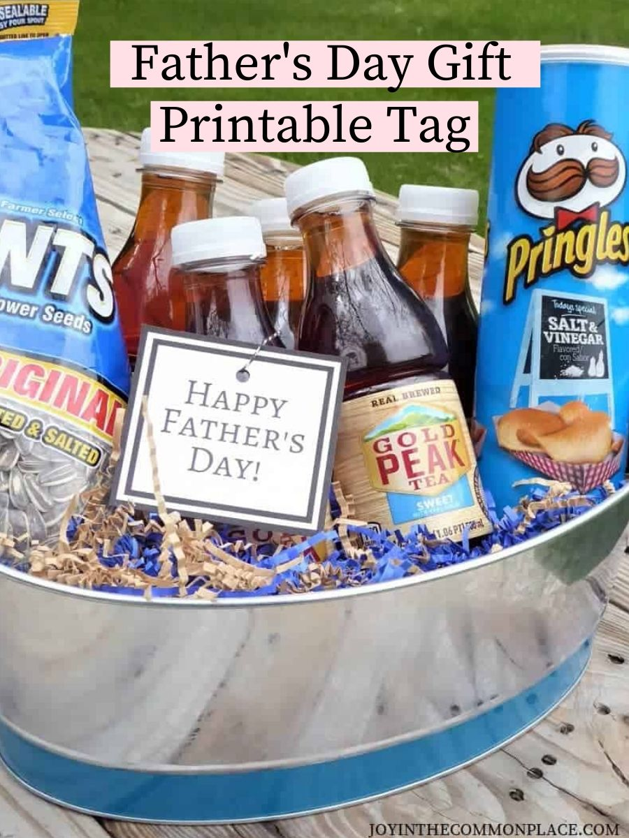 Father's Day Gift Printable Tag