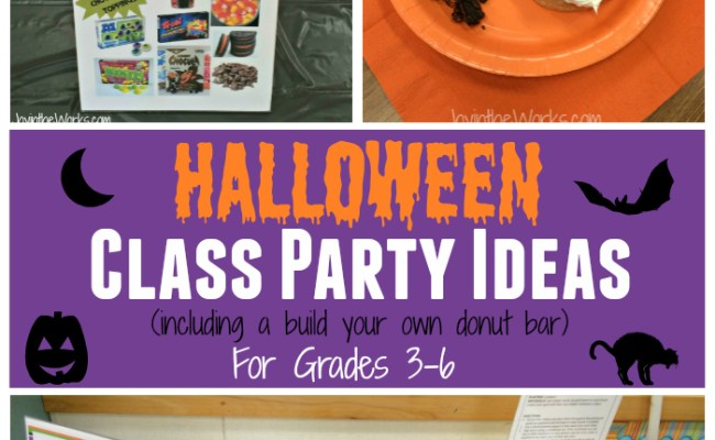Halloween Class Party Ideas For Grades 3 6 Joy In The Works