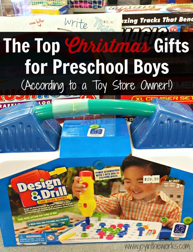christmas gifts for preschool