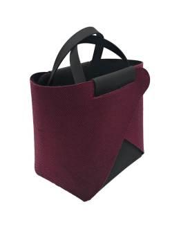 Joy-borse-componibili-vegan-made-in-italy-francesca-nero-louisiana-rosso-material