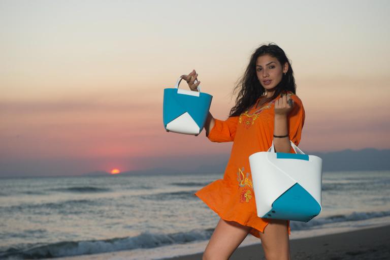 francesca borsa componibile gomma eva joy