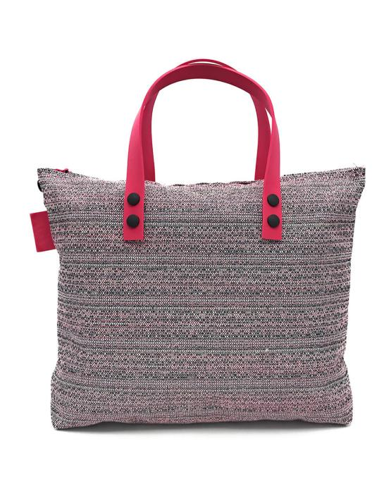 Giulia borsa trasformabile vegan rosa