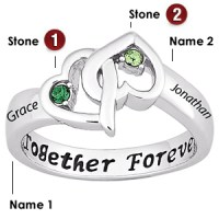 Sterling Silver Together Forever Promise Ring | Joy Jewelers