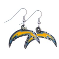 San Diego Chargers NFL Dangling Earrings GM2601 | Joy Jewelers