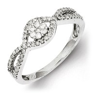 Sterling Silver 3/8ct Diamond Promise Ring QR3124 | Joy ...
