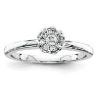 1/6ct Diamond Promise Ring QR4017 | Joy Jewelers