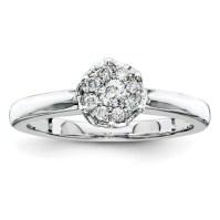 1/5ct Diamond Promise Ring QR4018 | Joy Jewelers