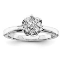 1/4ct Diamond Promise Ring QR4019 | Joy Jewelers