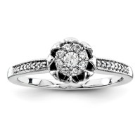 1/5ct Diamond Promise Ring QR4021 | Joy Jewelers