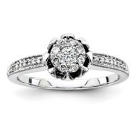 1/4ct Diamond Promise Ring QR4022 | Joy Jewelers