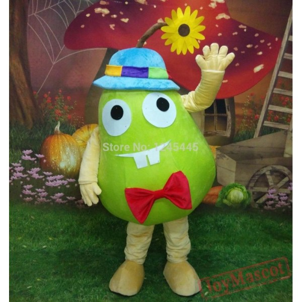 Funny Fruit Costme Hand Adult Pear Mascot Costume