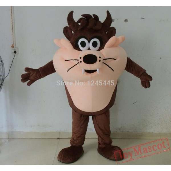Adult Movie Cartoon Costume Tasmanian Devil Mascot