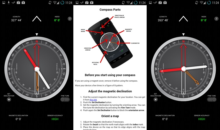 5 Best Compass App for Android to Navigate Like Magellan