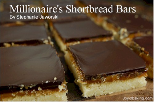Millionaire's Shortbread Bars Recipe