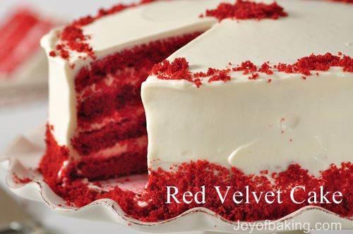 Log Cake Recipe Joy Of Baking: Red Velvet Cake From Joyofbaking.com