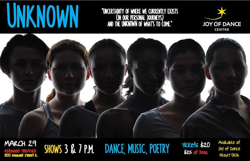 UNKOWN show at Joy of Dance Centre