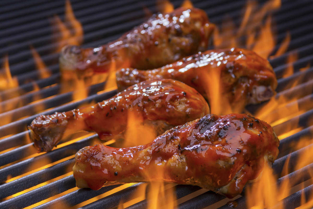 Apple Brown Sugar Barbecued Chicken  Jamie Geller