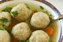 Jewish Matzo Ball Chicken Soup Recipe