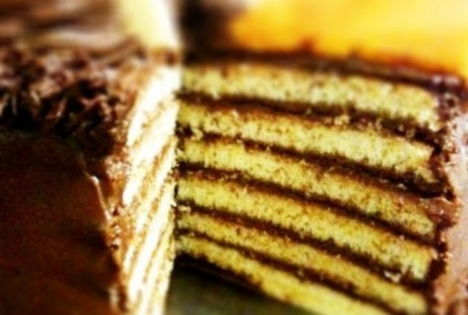 Traditional Jewish Seven Layer Cake - Jamie Geller