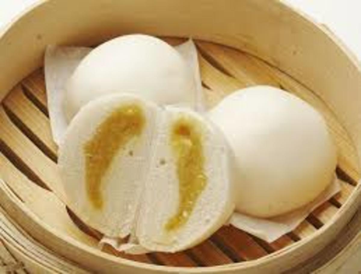 Chinese Custard Bun  Jamie Geller