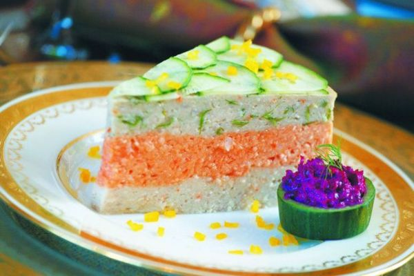 Tri-color Gefilte Fish - Jamie Geller