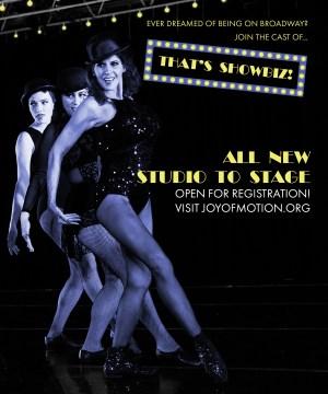 Winter 2017 Studio to Stage Dance Performance Class: That's Showbiz!