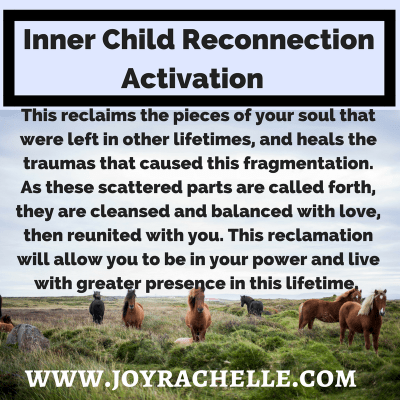 Inner Child Reconnection Sacred Activation