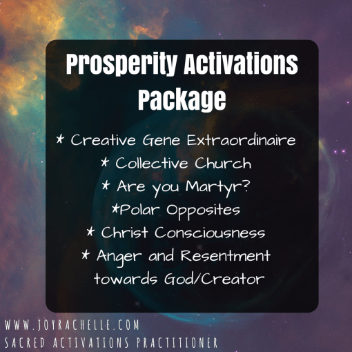 Prosperity Activations Package- Ready to Download