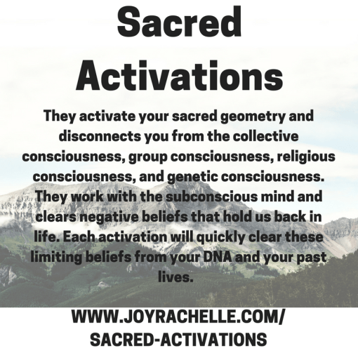 Addiction Redirection Sacred Activation