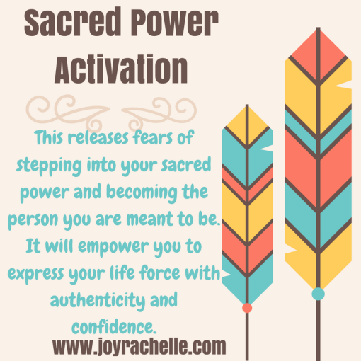 Sacred Power Sacred Activation