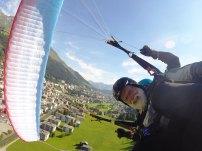 Tandem Paragliding Wingover