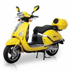 Yellow Wheelchair Desk Chair Ball Premier 150cc Scooter For Sale