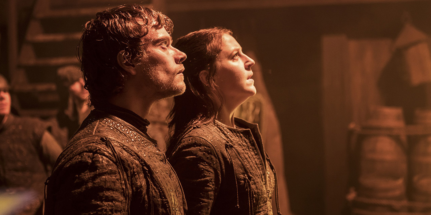 Theon and Yara Game of Thrones
