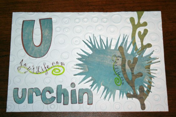 I Made this Urchin!