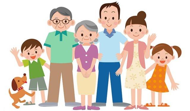 immagine che descrive i soggetti che compongono il nucleo familiare al completo destinatari delle comunicazioni presenti nell'articolo
