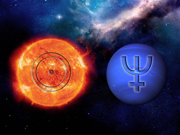 Image result for pictures of neptune and the sun