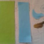 felt bird needle case sections