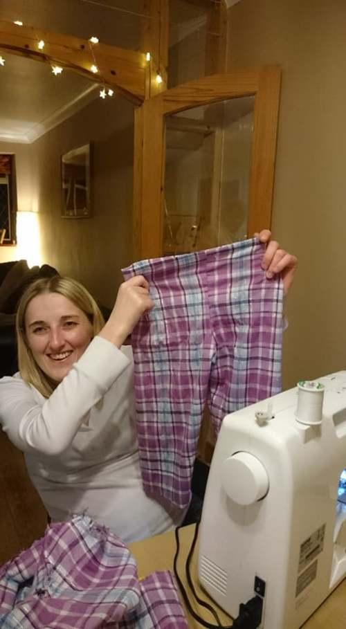 making children's pajamas