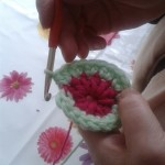 changing colour crochet