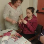 one on one crochet tuition