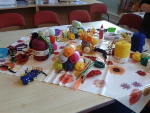 Sock fair crochet workshop Joy To Make