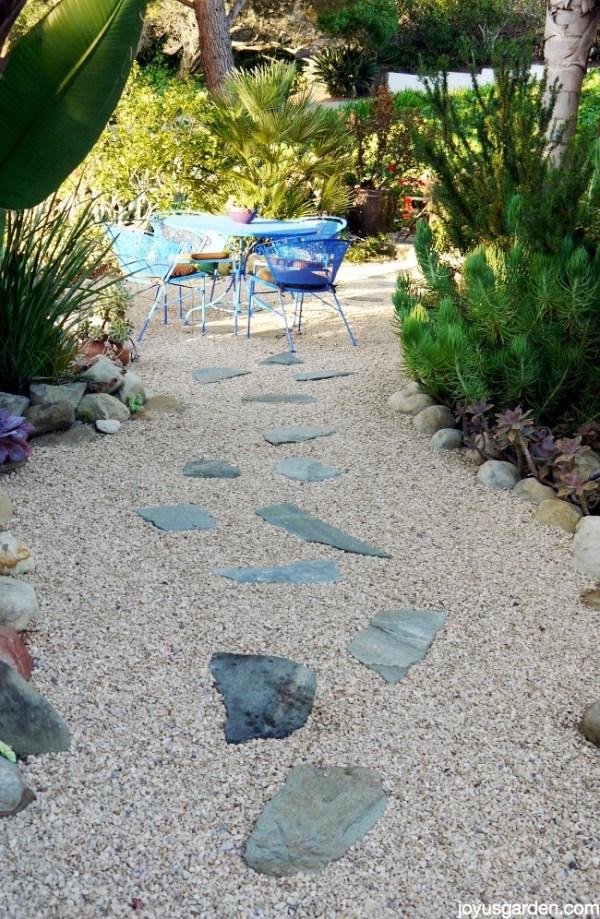 maintaining gravel landscape