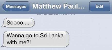 Sri Lanka text