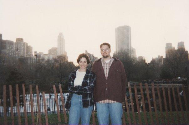 Scott and Joy in NYC