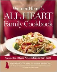 book cover of WomenHeart's All Heart Family Cookbook by Kathy Kastan