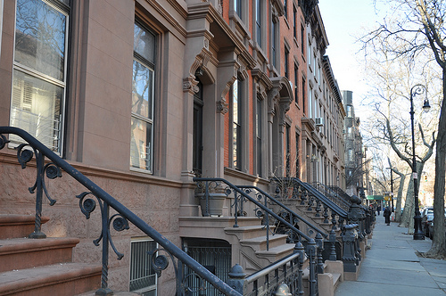 Photo of Brooklyn Brownstones