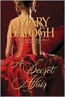 cover of A Secret Affair by Mary Balogh