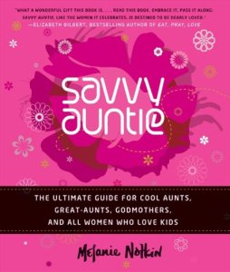 cover of Savvy Auntie by Melanie Notkin